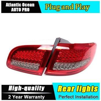 Car Styling for Hyundai Santa Fe LED Taillights 2007-2012 for New IX45 Tail Lamp Rear Lamp Fog Light DRL+Brake+Park+Signal light