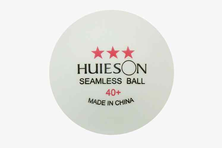 Huieson Factory direct new material 40+ seamless table tennis Match ball 50pcs/lot