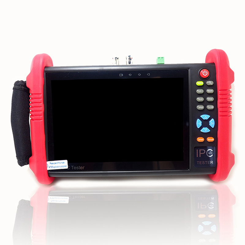 IPC9800ADHS 7 Inch Touch Screen 6-IN-1 HD CCTV Tester Monitor 1080P PTZ IP Analog AHD CVI TVI SDI Cameras Testing 8MP 5MP 4MP
