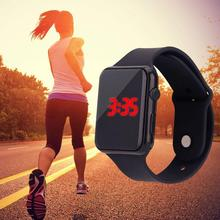 Reloj inteligente mujer watcheserkek kol saati электронные часы montre homme умные часы мужские наручные часы с кольцом светодиодные спортивные часы