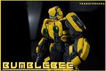 Blocks MOC Bumblebee Mecha Transformerss Robot Compatible Legoelys Toys