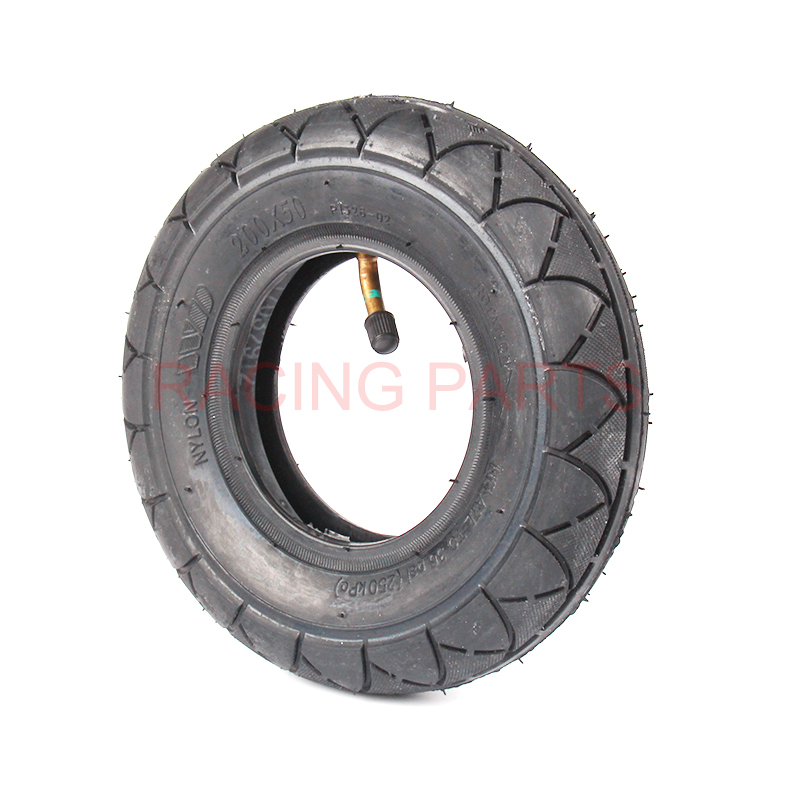 8 x 2 size for 200 x 50 L Stem Inner Tube on Gas or Electric Powered Scooters