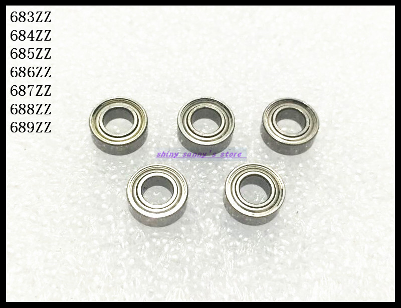 30pcs/Lot 688ZZ 688 ZZ 8x16x5mm Thin Wall Deep Groove Ball Bearing Mini Ball Bearing Miniature Bearing Brand New free shipping 50pcs lot miniature bearing 688 688 2rs 688 rs l1680 8x16x5 mm high precise bearing usded for toy machine