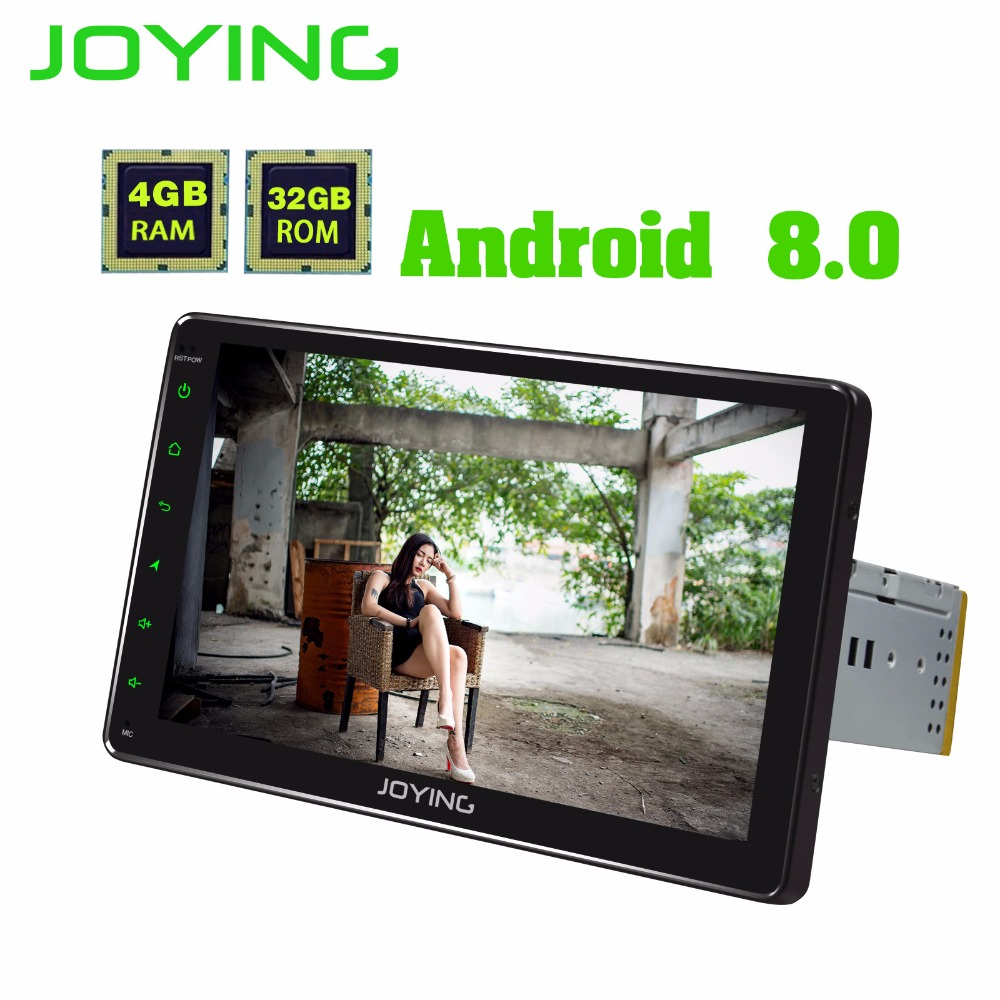 JOYING android 8.0 car radio 4gb HD touch screen 9 inch Octa Core 1din autoradio head unit GPS multimedia player with carplay BT