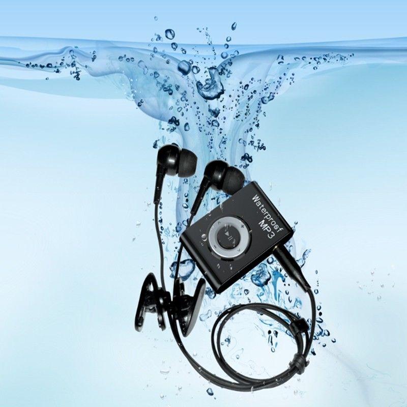 4G/8G/16G Mini À Prova D' Água de Natação MP3 Hifi Jogador Walkman Esportes Correndo Equitação MP3 Sereo MP3 Player de música Com Rádio FM Clipe