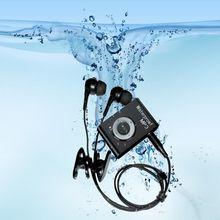 купить Newest Mini Waterproof Swimming MP3 Player Sports Running Riding MP3 Walkman Hifi Sereo Music MP3 Player With FM Radio Clip дешево