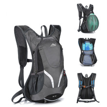 15L Cycling Backpack Nylon Outdoor Hiking Camping Hydration Pack Water Bags Waterproof Bicycle Riding Rucksack Backpack Bag цена 2017