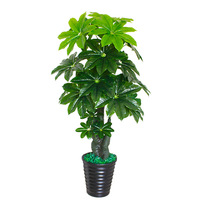 artificial tree 150cm Lucky king tree artificial greenery plant living room bonsai fake flower home decoration fake plants