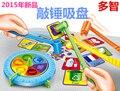 Пластиковые игрушки детские подарок на день рождения быстрое действие бить молоток игра для всей семьи родитель-ребенок интерактивные учебно-методический комплект