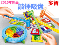 Plastic toy baby birthday gift the fast action whacking hammer game family fun parent child interactive educational set