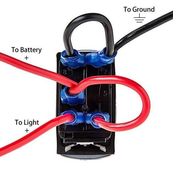 Narva 5 Pin Rocker Switch Wiring Diagram - Go Wiring Diagrams on