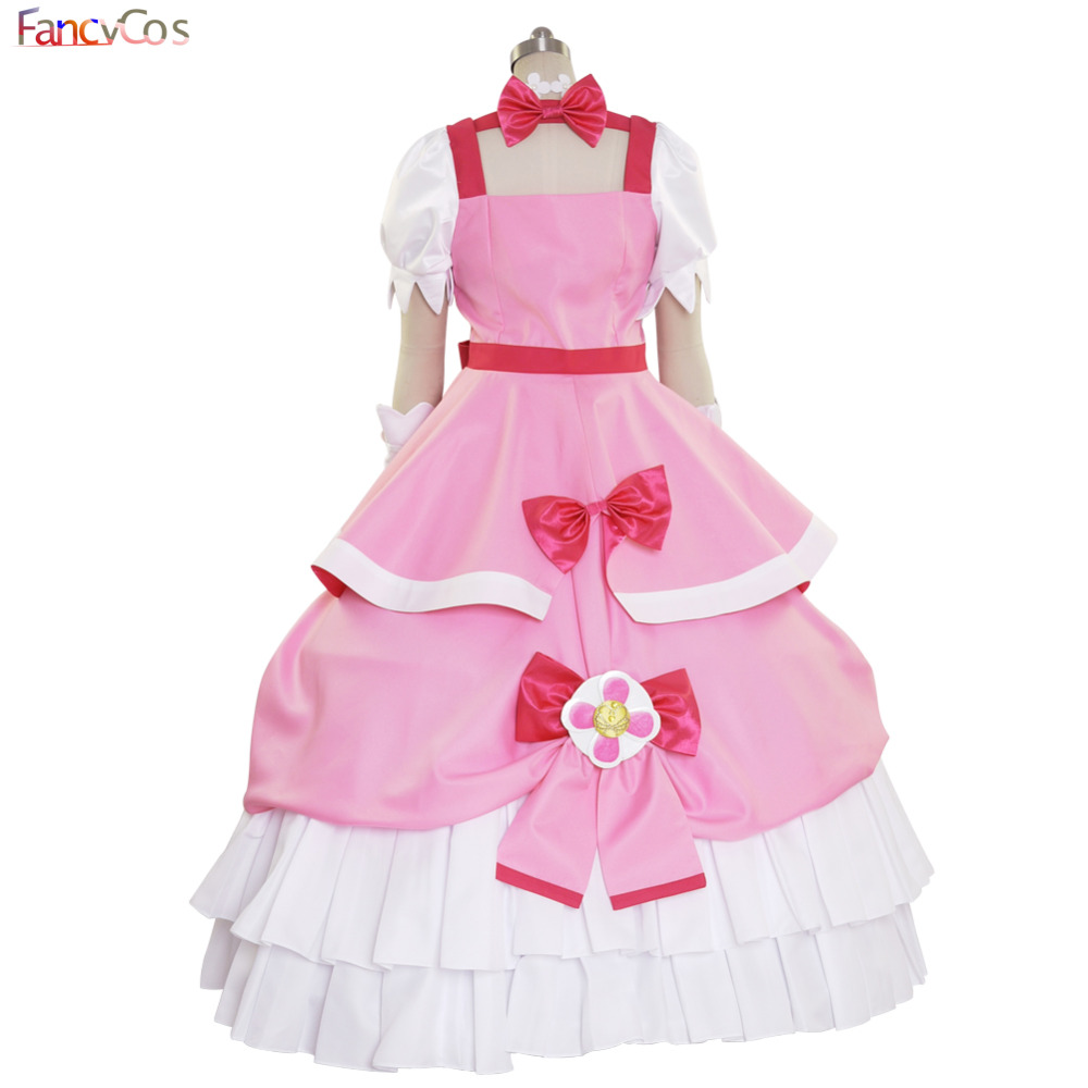 Princess PreCure Cure Flora Party Dress Costume Cosplay adult costume movie High  Quality Deluxe on Aliexpress.com  a20a1eecc16d
