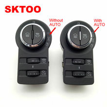 SKTOO  For Buick Encore Chevy Cruze Malibu Without AUTO GM13301749 Fog Lamp Headlight Control Switch Button