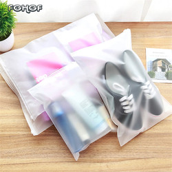 Пластиковая сумка для хранения косметики, водонепроницаемая сумка для обуви, тканевая сумка на молнии, органайзер для хранения, 2018