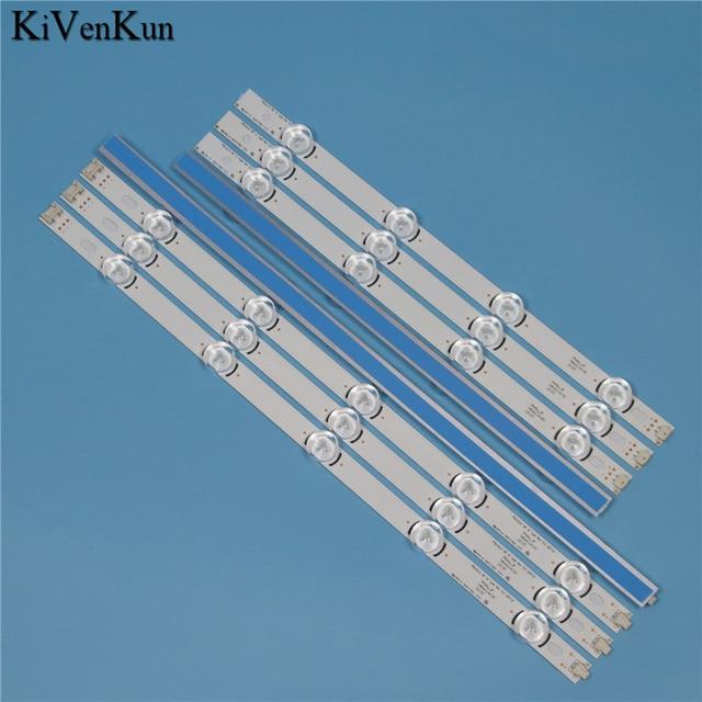 "Lamps LED Backlight Strip For LG 39LA6208 39LA620S 39LA620V 39LA6218  ZA Television Light Bars Kit LED Band POLA2.0 39"" A B Type"