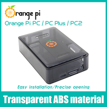 Laranja pi abs preto estojo para laranja pi pc, pc plus e pc2