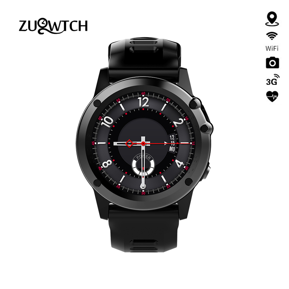 MTK6572 H1 Smart Watch Waterproof IP68 Support 3G Wifi GPS Android SmartWatch Phone Call SIM Camera Bluetooth For IPhone Samsung 3g smart watch finow k9 android 4 4 bluetooth wcdma wifi gps sim smartwatch colock phone for ios
