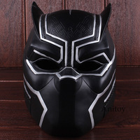 Marvel Super Hero Black Panther 2018 Movie Adult Costume Cosplay Helmet Halloween Party Supplies Cosplay Mask PVC Figure Toy