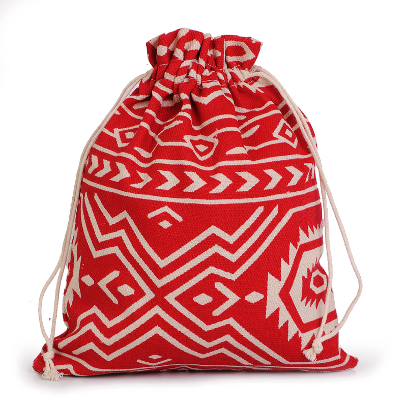 2016 pattern linen cotton storage bag 10pcs lot 9x13cm for Drawstring jewelry bag pattern