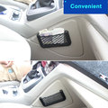Car/Automobiles Back Rear Trunk Seat Magic Sticker Elastic String Net Mesh Storage Bag Organizer Car Storage Baskets