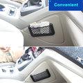 Carro/Automóveis de Volta Assento Traseiro Trunk Etiqueta Mágica Corda Elástica Rede de Malha Saco De Armazenamento Carro Organizador De Armazenamento Cestas