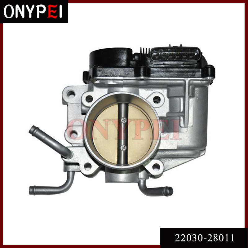 22030 28011 Throttle Body Assy For Toyota RAV4 Vista Nadia Caldina 1AZFSE 2 0