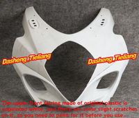 GZYF Injection Mold ABS Plastic Unpainted Upper Front Fairing Cowl Nose Fits for Suzuki 2007 2008 GSXR1000 K7