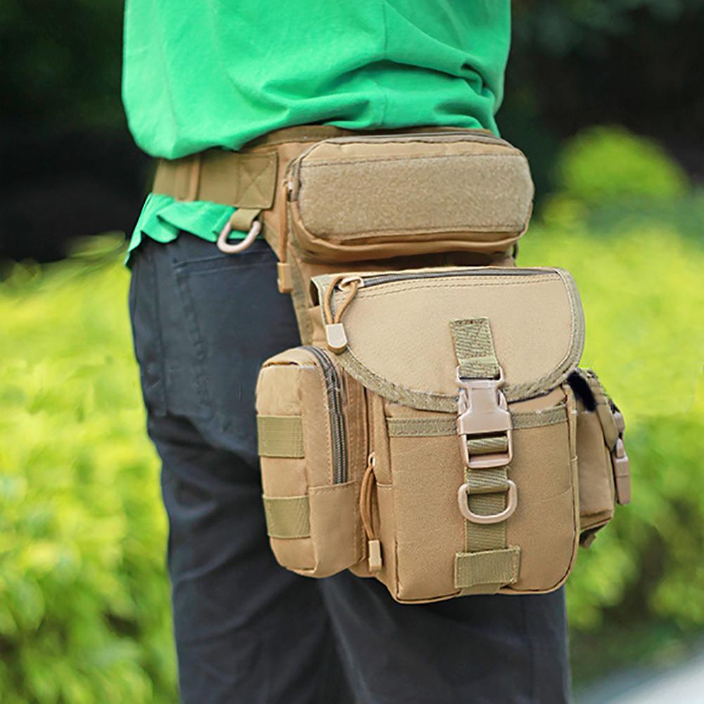 Protector Plus 2018 Men Waterproof Nylon Leg Bags Molle System Waist Tas Pria Waistbag 142b Black Militer Kamuflase Kaki Drop Panel Kegunaan Ikat Pinggang Kantong Ransel Bahu Fanny Paket
