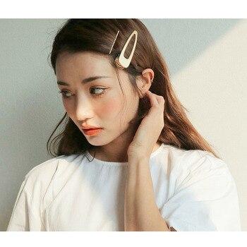 M MISM Pearls Hair Clips for Women Fashion Sweet Imitation Korean Style Hairpins Alloy BB Headmade Girls INS Hair Accessories 4