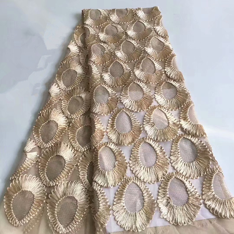 African Lace Fabric 2018 Embroidered Nigerian Laces Fabrics High Quality French Tulle Lace Fabric For Women HJ1464-1   African Lace Fabric 2018 Embroidered Nigerian Laces Fabrics High Quality French Tulle Lace Fabric For Women HJ1464-1