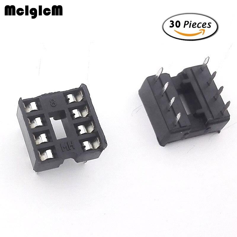 MCIGICM 30pcs 8pin pins-DIP IC...