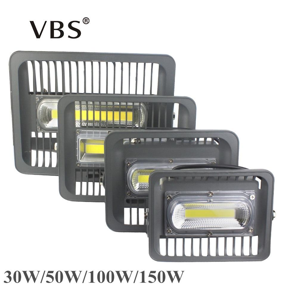 LED Projecteur 150 W 100 W 50 W 30 W IP66 Projecteur Led Exterieur a mené La Lumière D'inondation 220 V 110 V LED Puce pour Led Réflecteur Spotlight