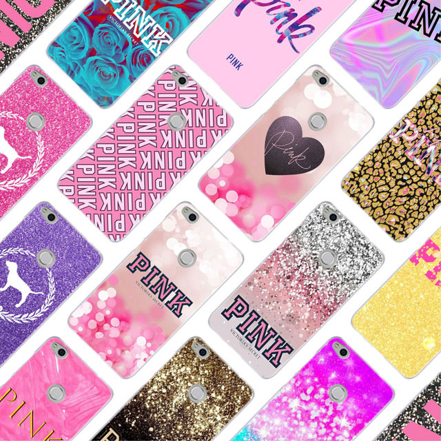 134ed96cd5f37 US $1.81 27% OFF|MLLSE Victoria Secret PINK Fashion Case Cover for Huawei  NOVA 3 3i 4 Honor V20 8X 8A 7A Pro 7X 7C 7i 8 9 10 Lite Play Cover Hot-in  ...
