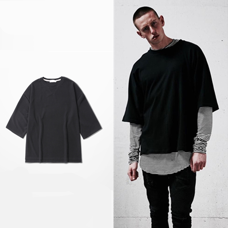 wholesale price oversized t shirt homme western clothes. Black Bedroom Furniture Sets. Home Design Ideas