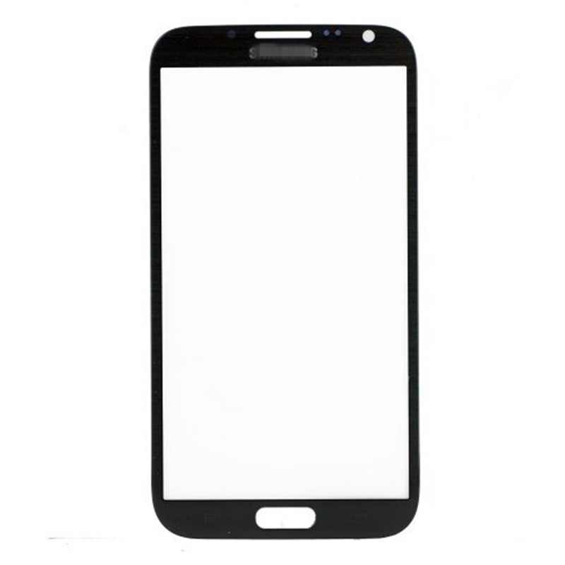 50pcs/lot grade A quality DHL free shipping Front Outer Glass Lens For Samsung Galaxy Note 2 II N7100 N7102 N7105 I317
