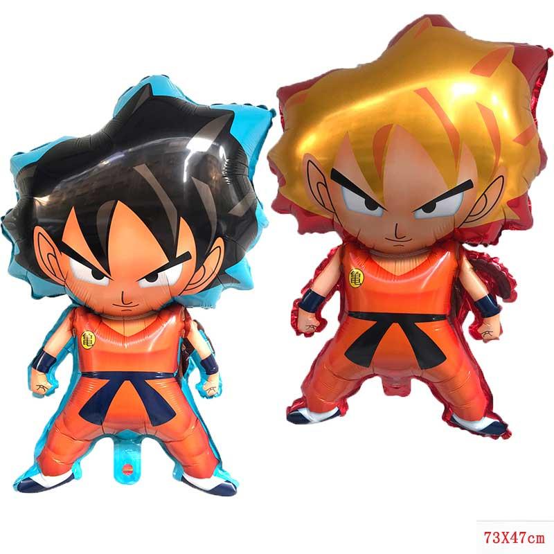 50pcs7 Dragon Ball story Goku Dragon Foil Balloons Helium Ballon Boy Birthday Decor Supplies balloon Children