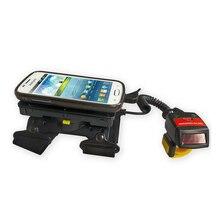 Generalscan Bluetooth Barcode Scanner GS WT1000BT 1D Laser Wearable Data Terminal Wired Ring Finger Barcode Scanner