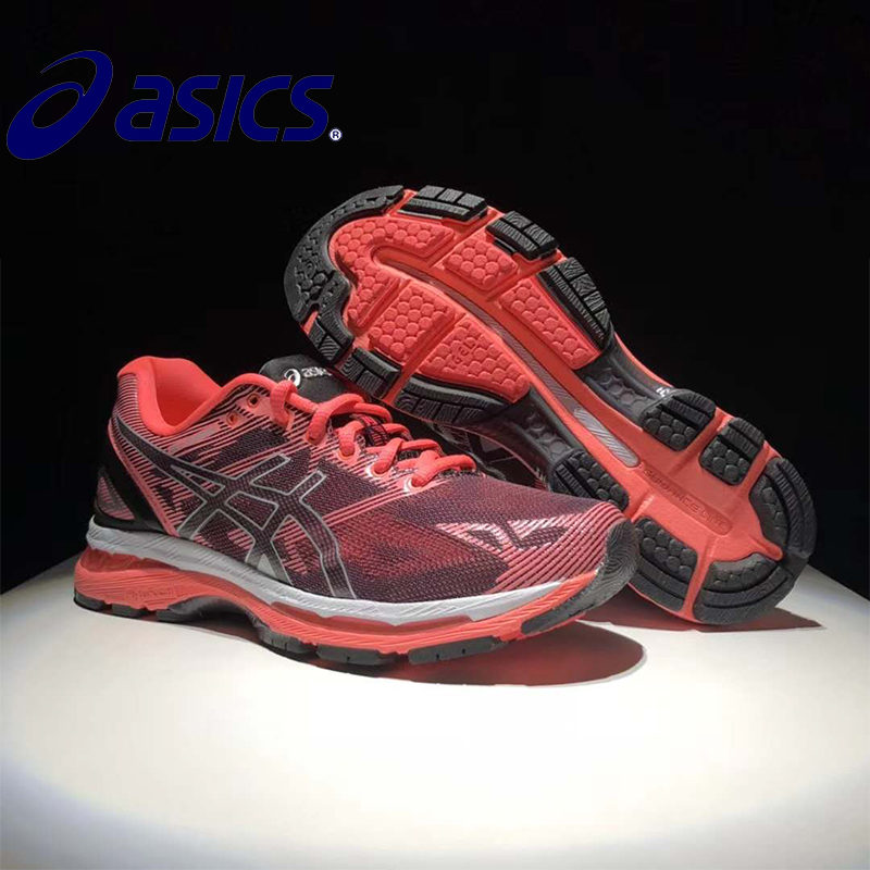ASICS GEL-KAYANO 19 T750N-9093 2018 Original New Arrival Official Asics Woemn's Sneakers Comfortable Outdoor Athletic shoes asics tiger gel lyte iii lc