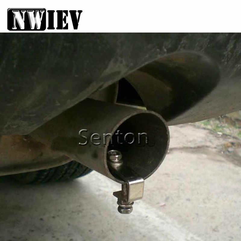 NWIEV Turbo Sound Whistle Simulator Car Exhaust Pipe Tip For Lada Granta  Vesta Volvo XC60 S60 XC90 V70 Peugeot 307 206 207 407