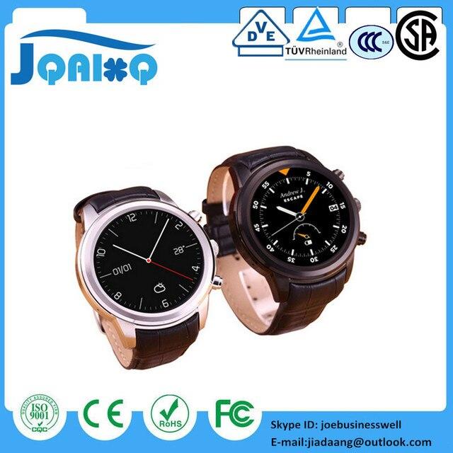 "Smart Watch 3G X5 K18 reloj inteligente Android WCDMA WiFi Bluetooth SmartWatch GPS 1.4"" AMOLED Display similar to Huawei Watch"
