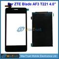 """Высокое Качество 4.0 """"Для ZTE Blade AF3 T221 Сенсорным Экраном Дигитайзер Датчик + ЖК-Дисплей Экран Черный Белый Цвет"""