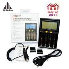D'origine Miboxer LCD Batterie Chargeur pour Li-ion/IMR/INR/ICR/LiFePO4 18650 14500 26650 AAA 3.7 1.2 V 1.5 V Batteries