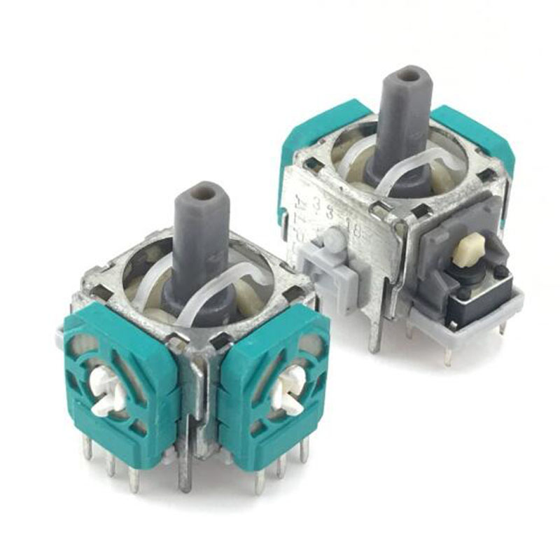 3-контактный сенсорный модуль потенциометр для контроллера Dualshock 3 PS3, геймпад, 3D Аналоговый джойстик, аналоговый стик, запасные части для рем...