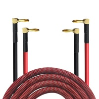 HIFI Dual Banana Plug Speaker Cable For AMP Home Theater Amplifier Surround Sound System Y Cables Wire 1m 2m 3m