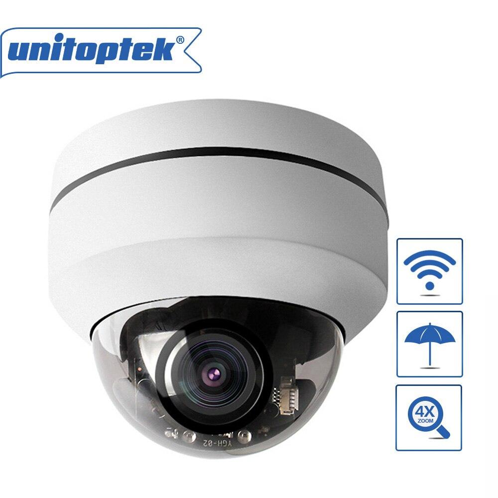 1080p 2mp Mini Ptz Wifi Camera Dome Outdoor Pan Tilt 4x Zoom Camera Onvif Network Wireless P2p Security Cam Tf Card Slot Cheap Sales