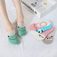 Dreamlikelin Soft Comfortable Cotton Girl Women's Socks Panda Rabbit Frog Low Ankle Female Invisible Socks