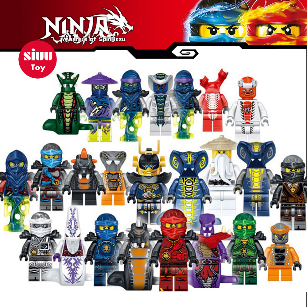 Ninjiago Super Heros Master Wu of legoing figures Hot Sale Bricks building blocks Educational Toys for Children Free Shipping