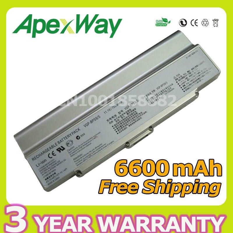 Apexway Silver for Sony Laptop Battery VGP-BPL9 VGP-BPL9C VGP-BPS10 VGP-BPS9/B VGP-BPS9/S VGP-BPS9A/B VGP-BPS9A/S VGN-AR71ZU шампунь brelil professional numero illuminating shampoo with precious oil