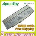 Apexway plata para sony vgp-bps10 vgp-bpl9c vgp-bps9 vgp-bpl9 batería del ordenador portátil/b vgp-bps9/s vgp-bps9a/b vgp-bps9a/s vgn-ar71zu