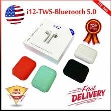 2019 новый высококачественный i12 air СПЦ мини Беспроводной Bluetooth 5,0 супер 3D бас ухо телефонов pk i10 i15 i11 i16 i13 XY стручки i14 СПЦ
